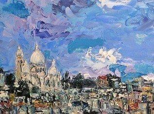 Montmartre azul
