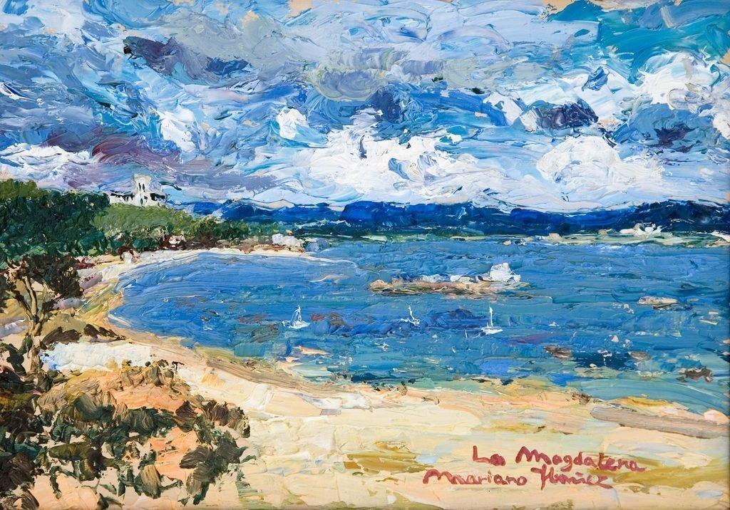 Palación de la Magdalena desde la playa